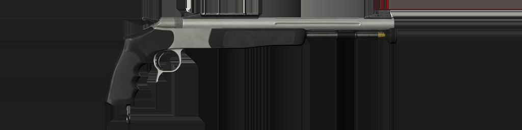 .50 Inline Muzzleloading Pistol (Silver)