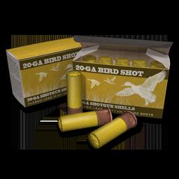 20 GA Birdshot Shells