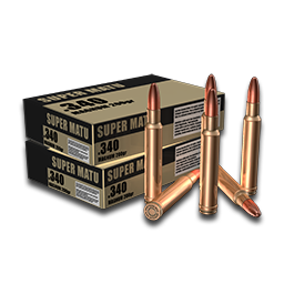 .340 Weatherby Magnum Ammunition