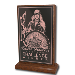 3° classificato in Laura Francese's Crossbow Challenge Laura_francese_bronze