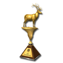 Bull's Best Bow 1° Trophy_elk_gold