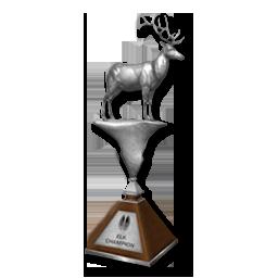 Bull's Best Bow 2° Classificato Trophy_elk_silver