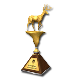 King of the Whitetail - Intermediate 1° Classificato Trophy_wt_gold